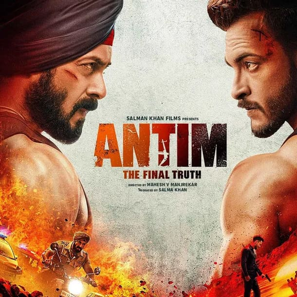 Antim: The final truth has come out: First Look of Salman Khan, Aayush Sharma